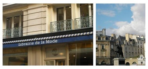 Dan Bizet @ Libairie de la Mode Place des Victoires