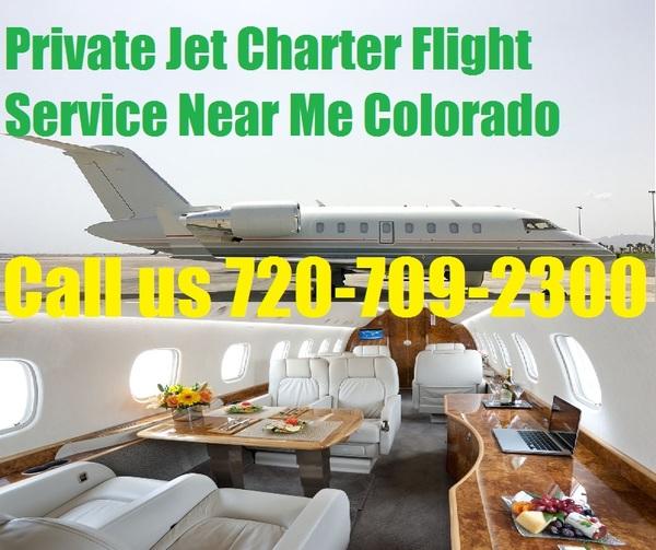 Private Plane Jet Charter Flight Service To Denver, Colorado Spring, Aurora, CO