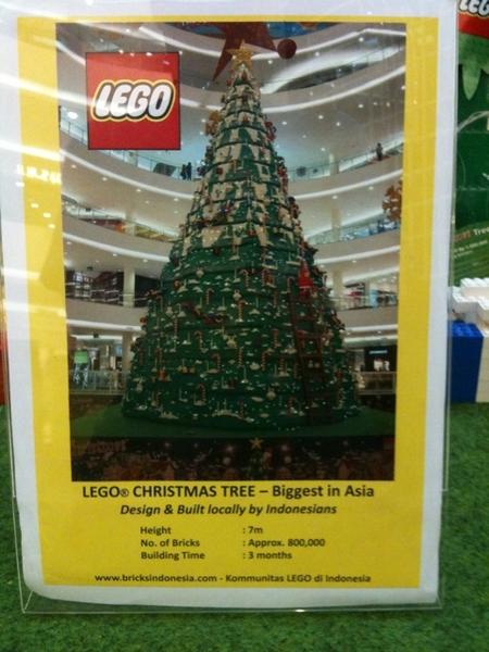 Lego Xmas tree