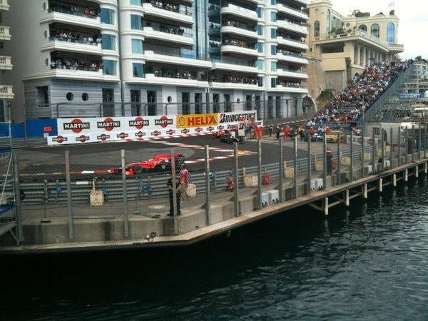 Just got this from Antoinette on the marussia boat :-)