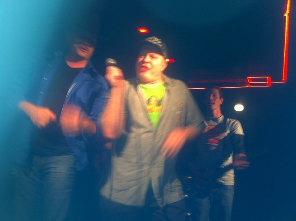 Wahoo! Chaos @TheComedyStore last nite-jammin after hours w my crazy cousins @TonyHinchcliffe  @SimplyDon1 & @johnrich.