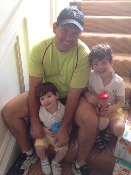 Happy Father's Day to all the Dads out there.  I couldn't have had a better day with my boys and wife at the park!