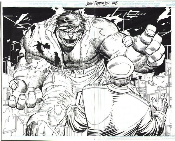 #HULKSMASH in B/W
