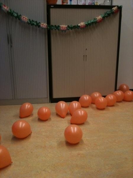 Bergje balonnen.