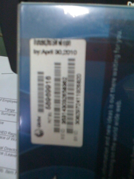 Too bad the sim is expired! ;( but still thankful for the USB Dogle. ;)  @abeolandres