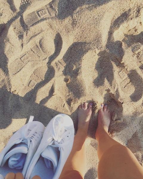 Broek uit. Schoenen uit. 😎