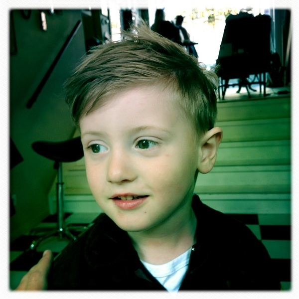 Fletcher of the Day: Haircut