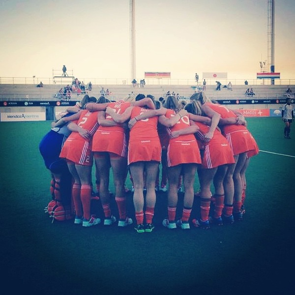 Lets go one more time!! Bronze medal match ned-nzl #orange #team #CT2014