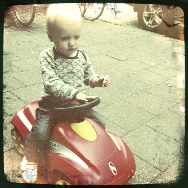 Fletcher of the day: Beep Beep!