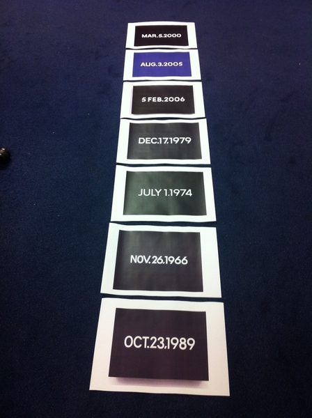 Did I ever tell that I am a huge fan of On Kawara?