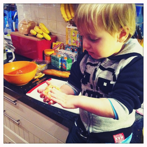 Fletcher of the day: making meatballs