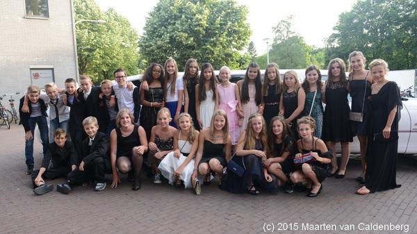 In @DeKentering #rosmalen was zaterdagavond #Promnight van @SJVRosmalen voor de kids uit #groep8