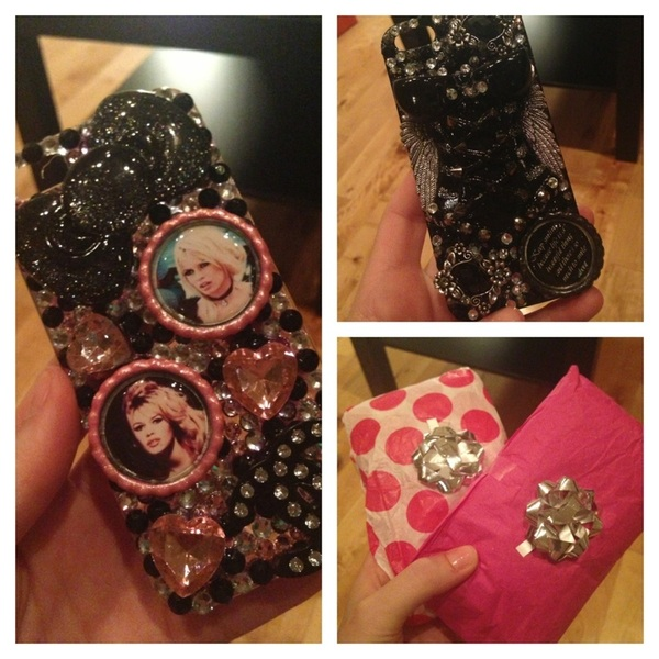 Just got THE BEST package in the mail from @Love_Quote_Book Somebody has 2 fav new iPhone cases! Check her creations!