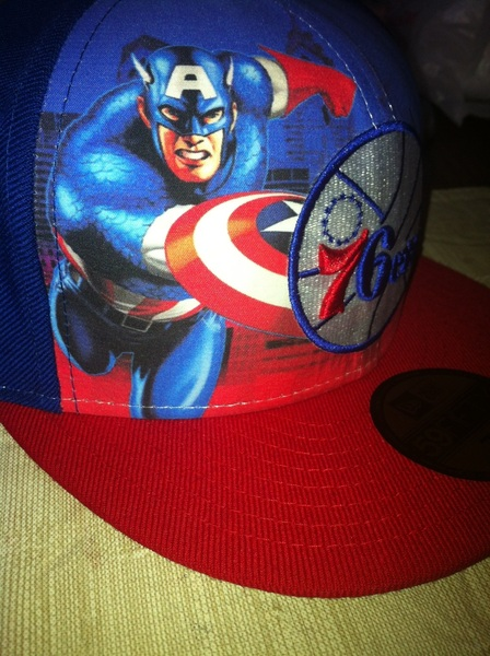 @JAMBOY75 cuz I know you're a 76ers fan , check out my new hat