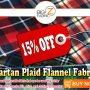 Tartan Flannel Fabric Sale
