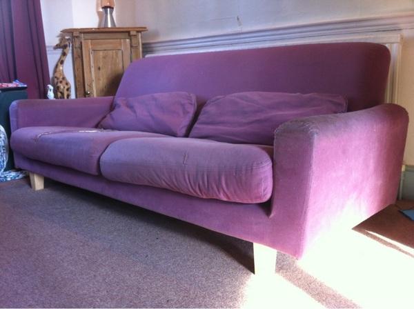 My Sofa Still Free To Good Home Ikea Nikkala Needs New Cover Very
