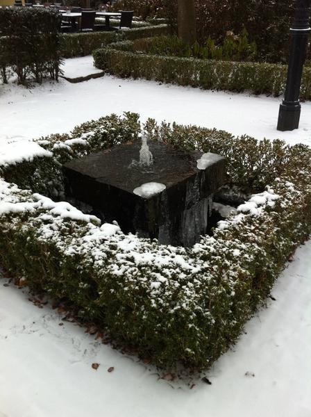 Ziet een winterplaatje... huh... schiet een winterplaatje.