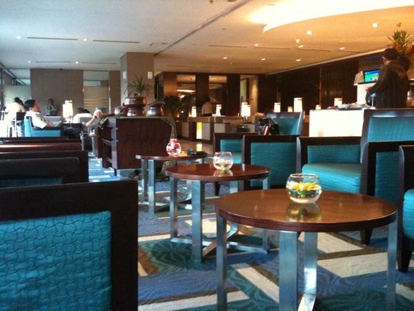 Garuda Indonesia domestic lounge Jakarta soekarno hatta airport