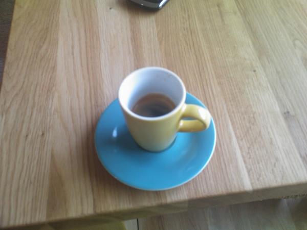 Mmmmm, espresso met dank aan @machiell