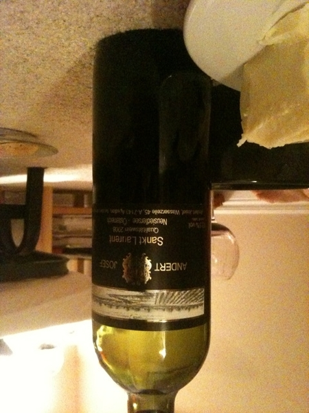 Why keep drinking same old, same old red wines, I ask myself. Just cracked open an Austrian St. Laurent...