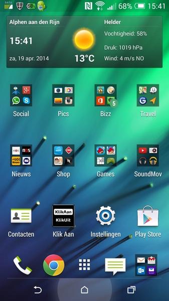 perfecte  telefoon en apps, niets meer aan doen #M8