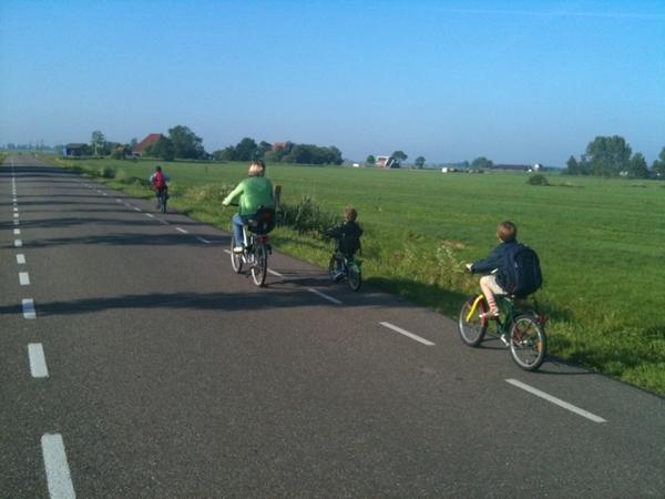 We zijn bevoorrecht ... lekker fietsen!