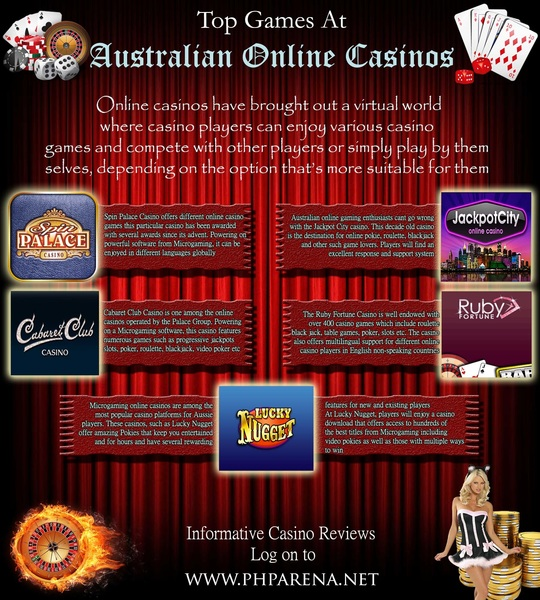 top online casino australia