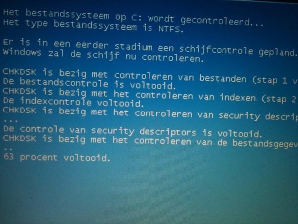 Na installatie van Ubuntu naast Windows duiken plotseling allemaal harddiskproblemem op in Windows. Toeval?