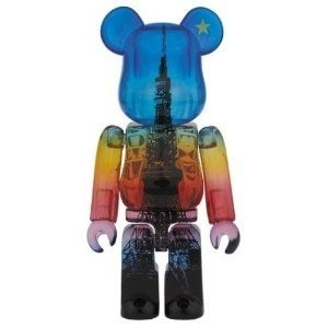 BE@RBRICK   ベアブリック× 55th 記念 TOKYO TOWER MAGIC TIME Ver.100% http://j.mp/1m6dW8u #bearbrick #toy #hobby