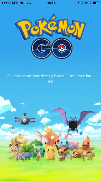 Those sysadmins must be having a rough start of the weekend #pokemongo