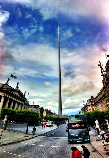 The Spire of Dublin -