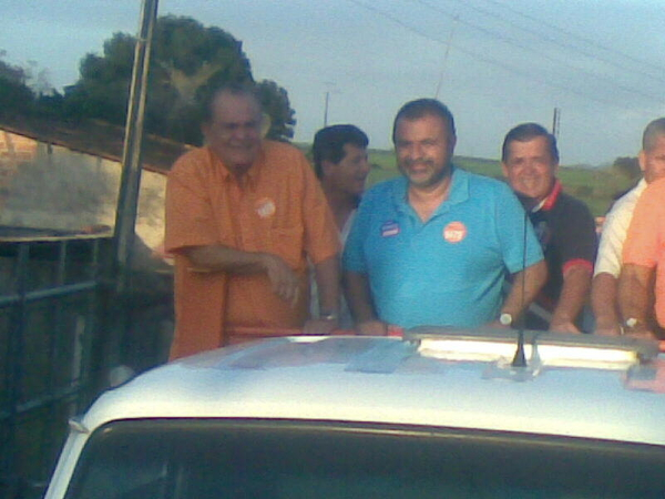 Carreata com o Dep Federal @joaolyra1478 em messias...