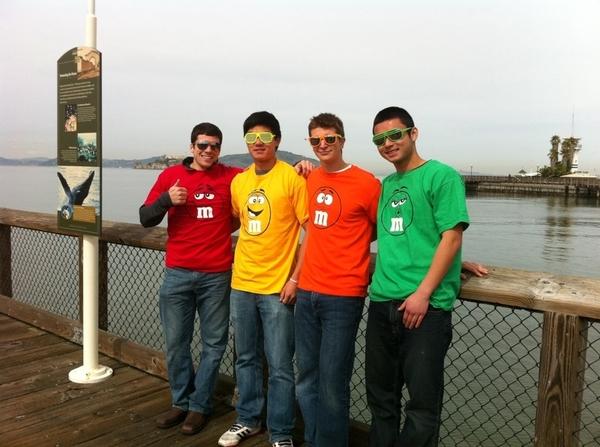 Taking in fishermans warf and Alcatraz. Hodag love.