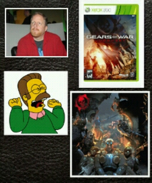 @GearsViking announced Classes in #GearsJudgment the gamers who couldnt take change screamed like Ned Flanders. #E3