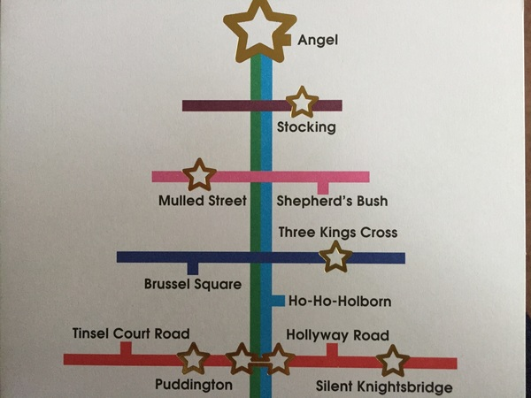 Best Londoner's Christmas card of the year #BushW12