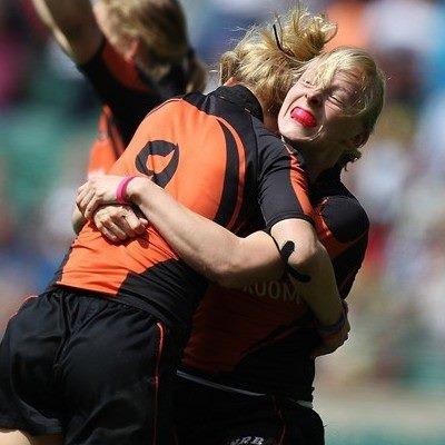 Winnen van de voormalig wereldkampioen Australie in het Twickinham stadion in London. NL 14-AUS 12 #sportmoment