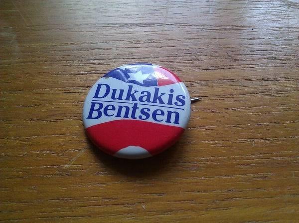 Bonus button: I did voter registration for this campaign when I was 13.