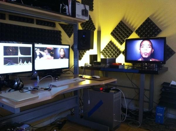Pics For > Video Editing Studio Setup