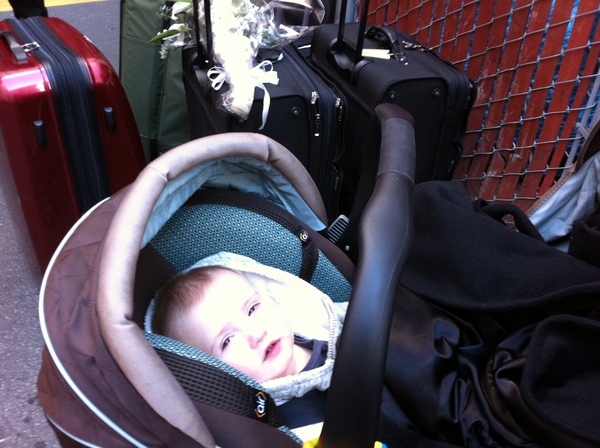 Fletcher of the day: ready to go home!