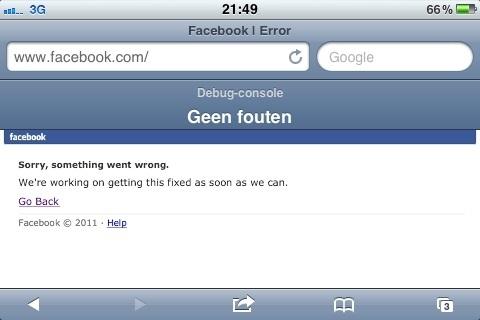 facebook + beurs