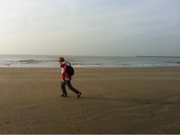 Back on track on the Dutch coastline