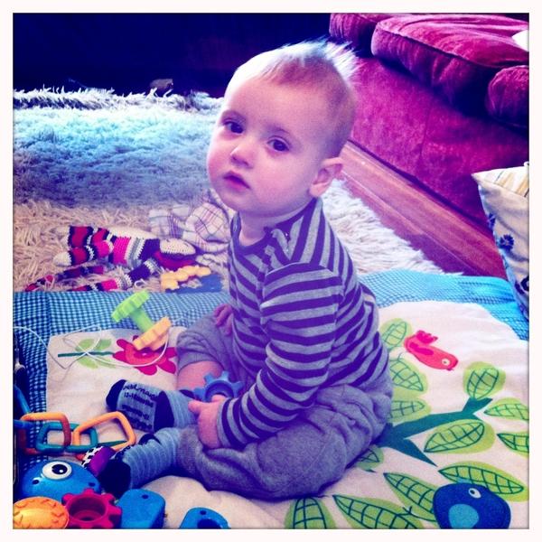 Fletcher of the day: sitting