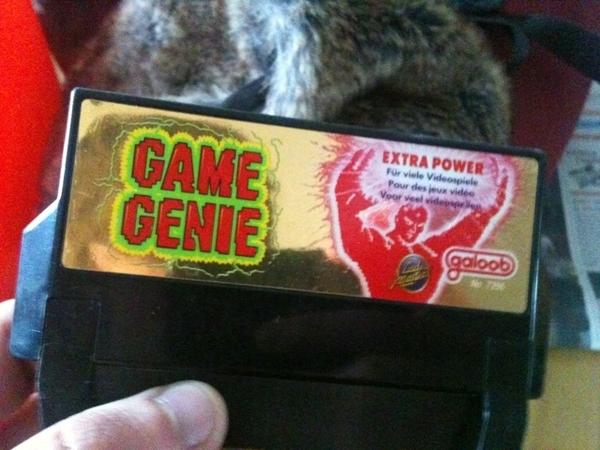 the fuckin' game genie! : D