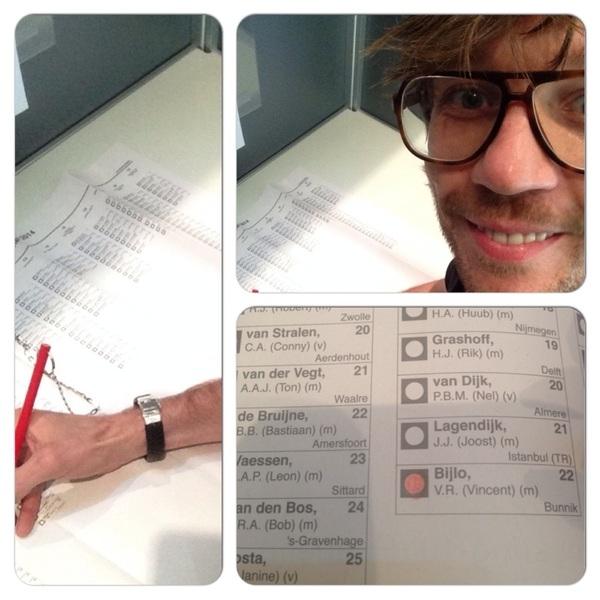 Ik heb blind gestemd