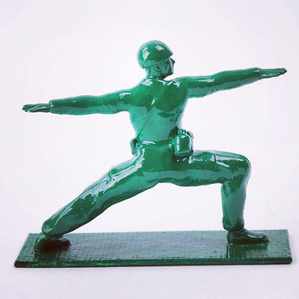 #yoga Joes. Yoga is slowly losing its all female character