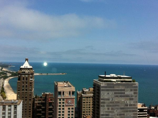Yeah, baby... The heat broke before I got heat stroke! #chicago
