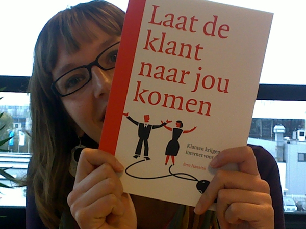 Jorien is blij dat 'ie is geleverd #managementboek