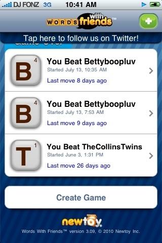 Umm errr uhhh i'm 2-0 w/u RT @BettyBoopLuv Damn I left my ipod at home.. Ur gonna lose anyway! Lol