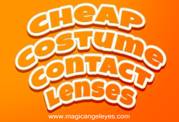 Cheap Costume Contact Lenses