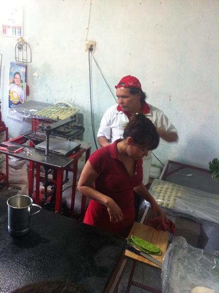 Todos Santos: making nopal-flavored flour tortillas w Juan Landeros Aviles